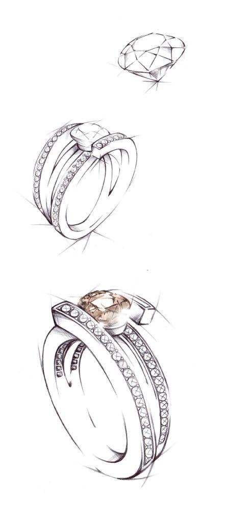 L'attribut alt de cette image est vide, son nom de fichier est croquis-création-bijou-unique-diamant1-1-445x1024.jpg.